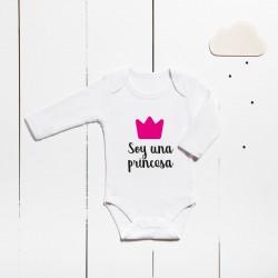 Body algodón - Son unha princesa