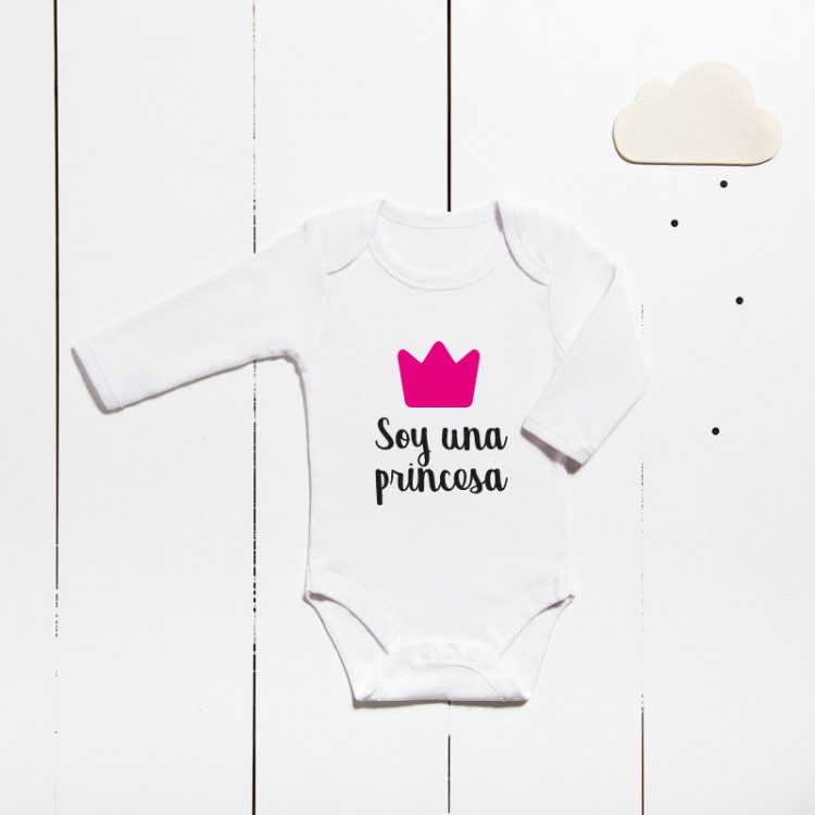 Cotton bodysuit - I´m a princess