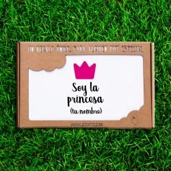 Primera puesta 4 pcs. - Soy la princesa (PERSONALIZABLE)