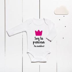 Body en coton - Je suis la princesse (PERSONNALISABLE)