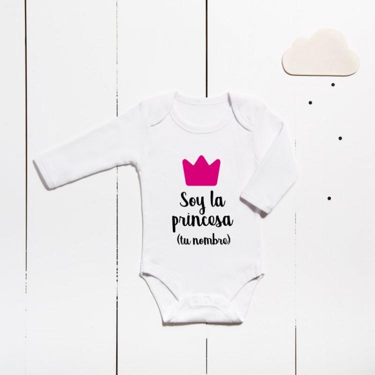 Body algodón - Son a princesa (PERSONALIZABLE)