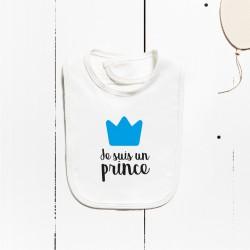 Babero algodón - Soy un príncipe