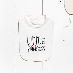Bavoir en coton - Petite princesse