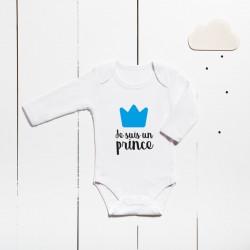 Body coton - Je suis un prince