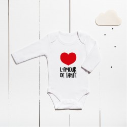 Body en coton - L'amour de tante