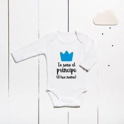 Body algodón - Soy el príncipe (PERSONALIZABLE)