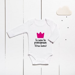 Cotton bodysuit - I am the princess (CUSTOMIZABLE)