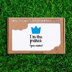 Primera puesta 4 pcs. - Soy el príncipe (PERSONALIZABLE)