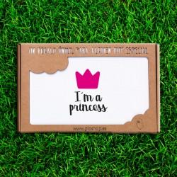 Neonato 4 pezzi - Io sono una principessa