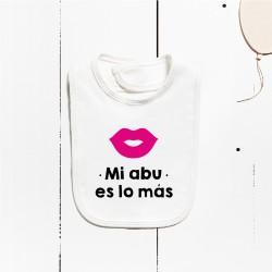 Babero algodón - Mi madrina es lo más (PERSONALIZABLE)