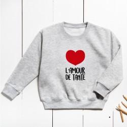 Sudadera Unisex Infantil - Amor de (PERSONALIZABLE)