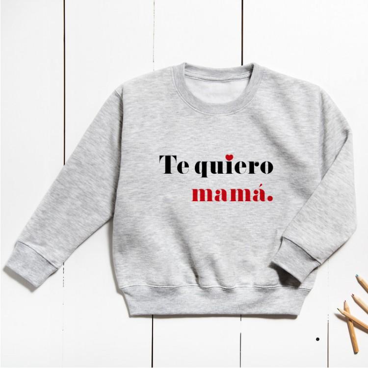 Sudadera Unisex Infantil - Te quiero (PERSONALIZABLE)