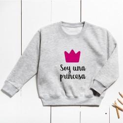Sudadera Unisex Infantil - Soy una princesa