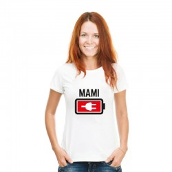 Camiseta mamá - Batería baja