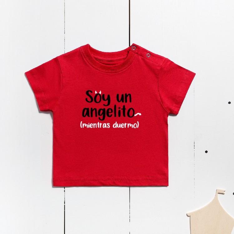 Short-sleeved cotton t-shirt - I'm an angel