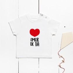 Camiseta algodón manga corta - Amor de tía