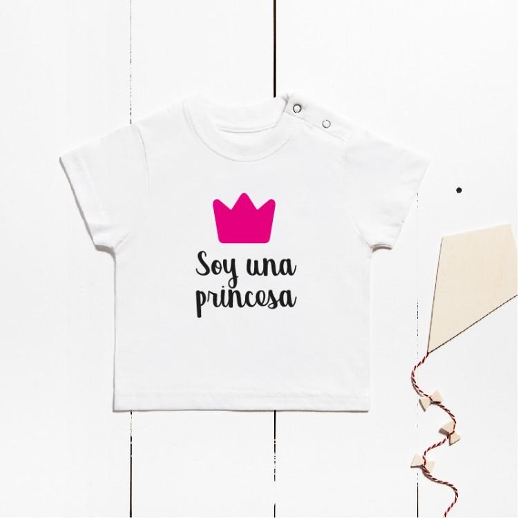 Short sleeve cotton t-shirt - I´m a princess
